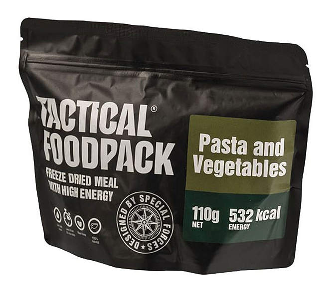 Tactical Foodpack® Pasta mit Gemüse