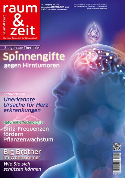 Raum & Zeit Nr. 222 - Ausgabe November/Dezember 2019