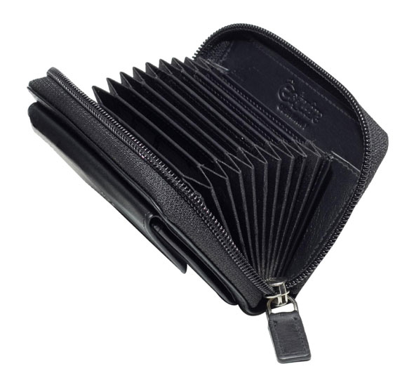 Esquire RFID Reißverschluß-Kreditkartenetui 301849 00