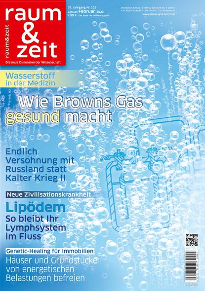 Raum & Zeit Nr. 223 - Ausgabe Januar/Februar 2020