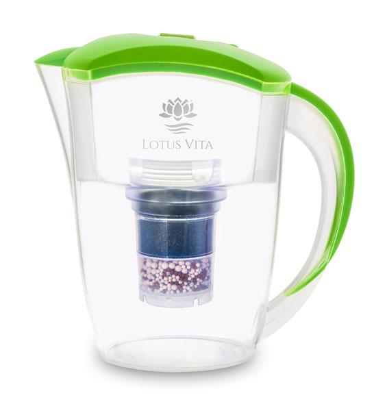 Lotus Vita ESPRIT Filterkaraffe - Pistazie