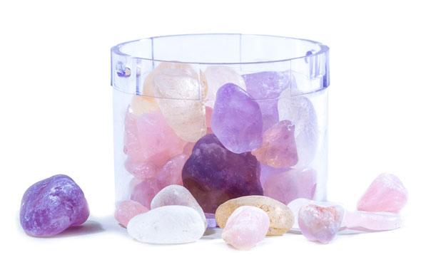 Kristallsteinfach für Lotus Vita Filterkaraffen