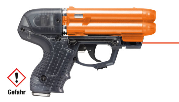 Piexon JPX6 Jet Protector mit 4 Schuss Speedloader mit Laser