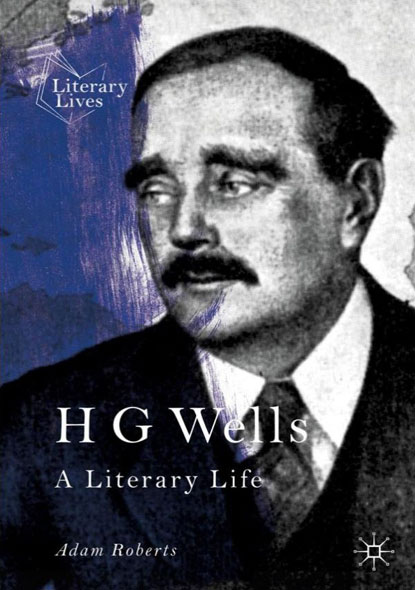 H G Wells - A Literary Life - Mängelartikel