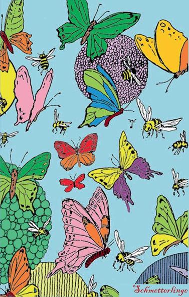 Schmetterlinge Notizbuch