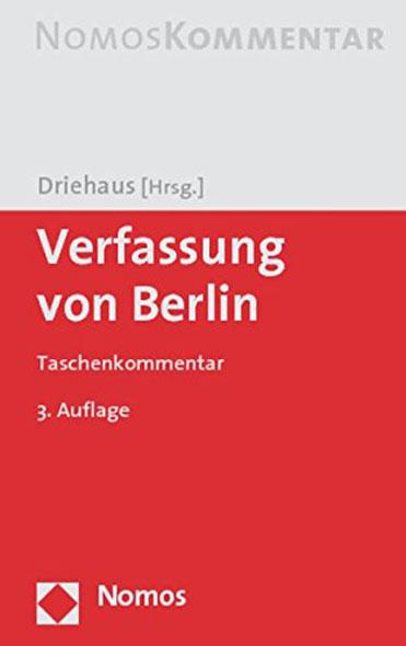 Verfassung von Berlin - Mängelartikel