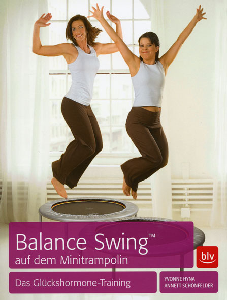Balanca Swing(TM) auf dem Minitrampolin