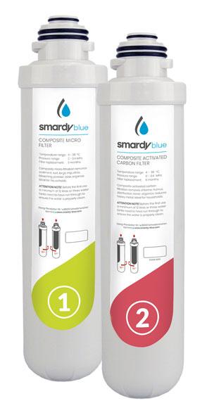 Ersatzfilter Set 1 für Smardy Wasserbar