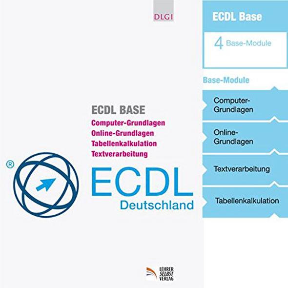 ECDL Base: 4 Module - Computer-Grundlagen - Mängelartikel