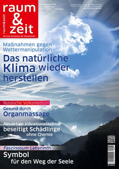 Raum & Zeit Nr. 224 - Ausgabe März/April 2020