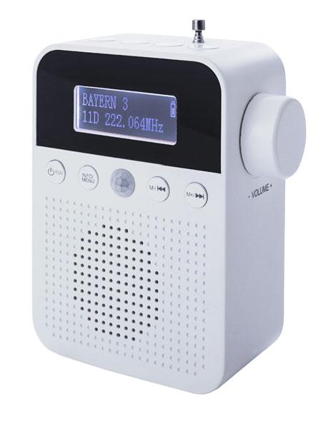 DAB+ Steckdosenradio mit Bewegungsmelder - Mängelartikel