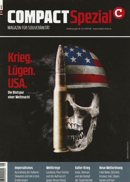 Compact Spezial Nr. 25: Krieg. Lügen. USA.