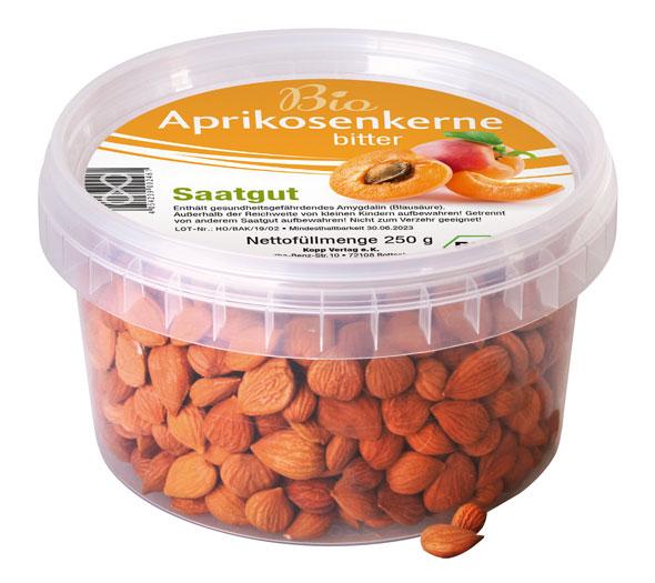 Bio-Aprikosenkerne bitter Saatgut