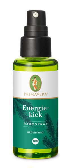 PRIMAVERA® Energiekick Raumspray bio - 50ml