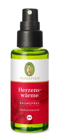 PRIMAVERA® Herzenswärme Raumspray bio - 50ml