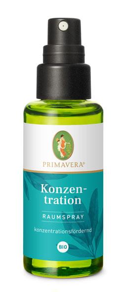 PRIMAVERA® Konzentration Raumspray bio - 50ml