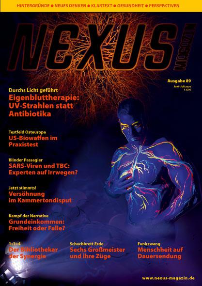 Nexus-Magazin Ausgabe 89 Juni/Juli 2020