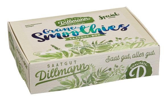 Grüne Smoothies Saatgut-Box S