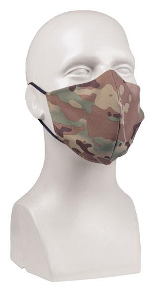 Mund/Nasenbedeckung V-Shape PES/EL - Multitarn