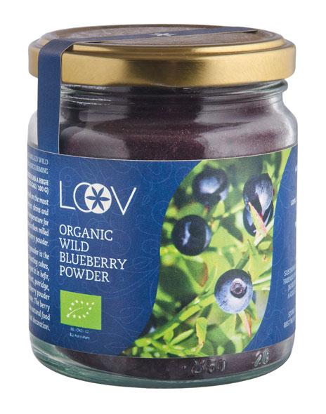 LOOV Bio-Wildheidelbeer-Tresterpulver