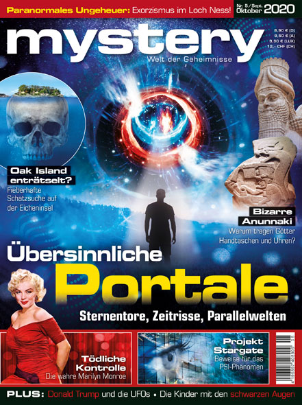 mystery - Ausgabe Nr. 5 September/Oktober 2020