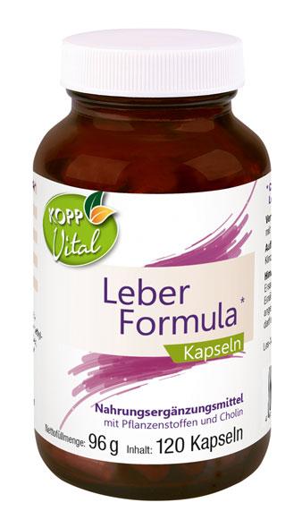 Kopp Vital Leber-Formula Kapseln