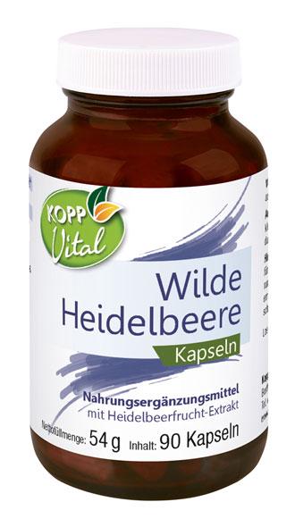 Kopp Vital Heidelbeer-Polyphenol Kapseln