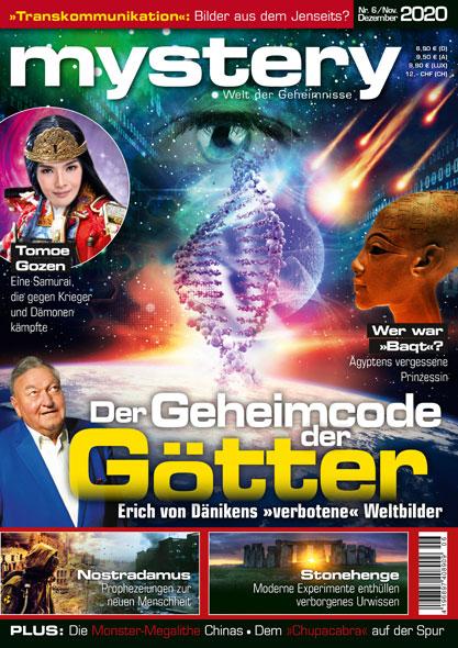 mystery - Ausgabe Nr.6 November/Dezember 2020