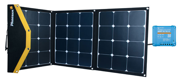Solarmodul-Kit Phaesun Fly-Weight 3 × 40 W Ladegerät