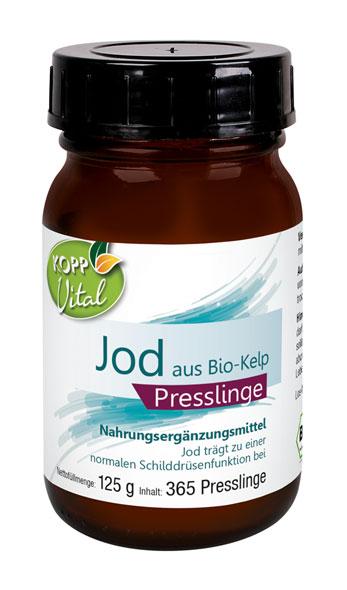 Kopp Vital Jod aus Bio-Kelp Presslinge