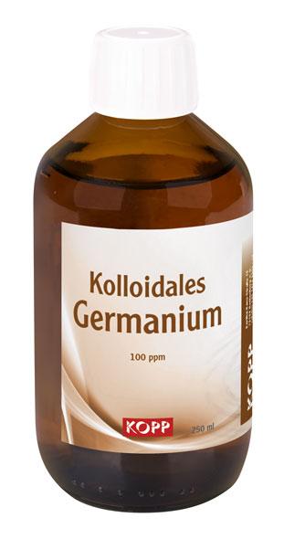 Kolloidales Germanium - Konzentration 100 ppm - 250 ml