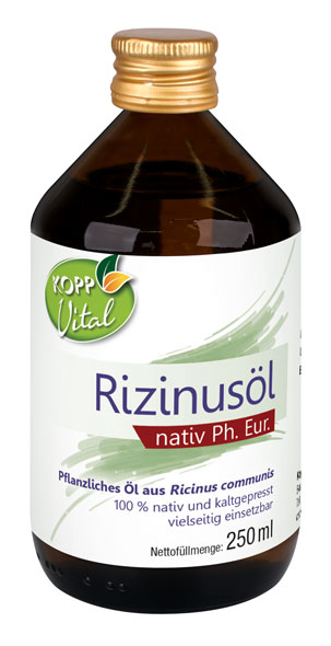 Kopp Vital Rizinusöl nativ Ph. Eur. - 250 ml