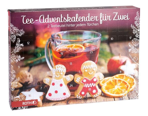 Bio-Tee-Adventskalender für zwei