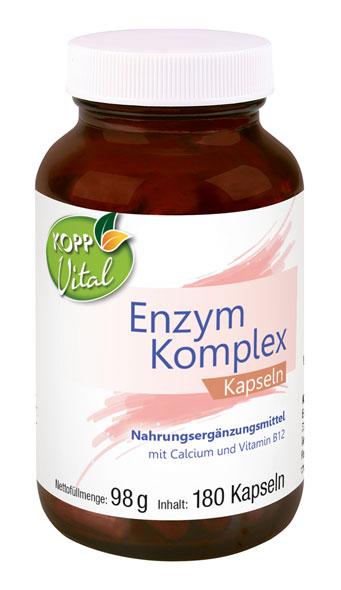 Kopp Vital Enzym Komplex Kapseln