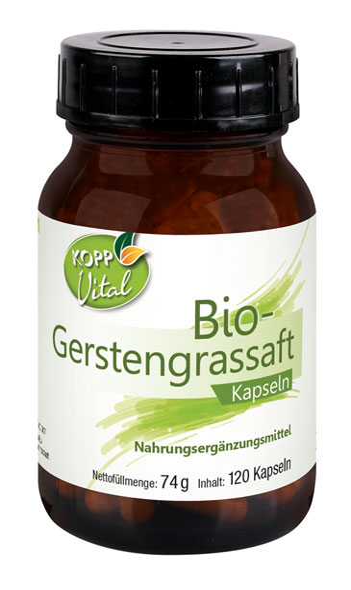 Kopp Vital Bio-Gerstengrassaft Kapseln