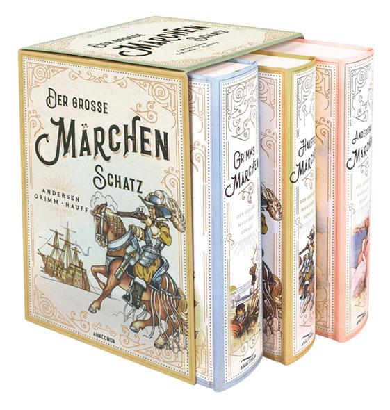 Der große Märchenschatz: Andersen, Grimm & Hauff