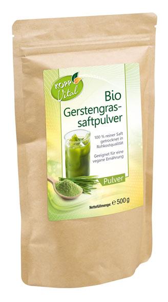 Kopp Vital Bio-Gerstengrassaftpulver