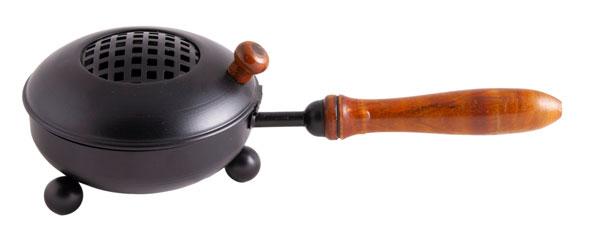 Räuchergefäß »Mahan« - Eisen mit Holzgriff