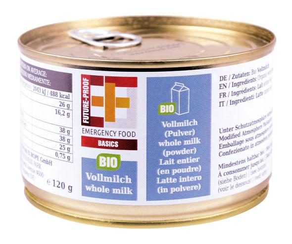 EF Basics Bio-Vollmilchpulver