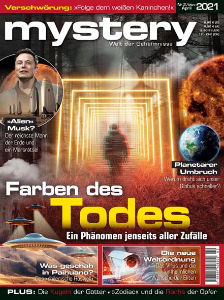 mystery - Ausgabe Nr. 2März/April 2021