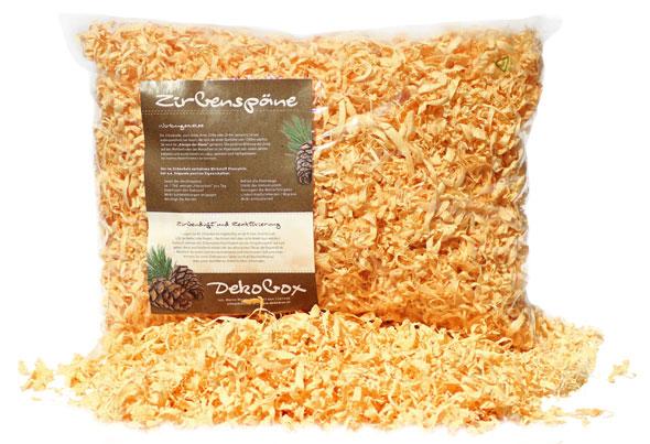 Zillertaler handgedrechselte Zirbenspäne - Nachfüllpack
