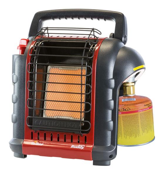 Mr. Heater Mobile Gasheizung inkl. Umrüstschlauch für Gasflasche