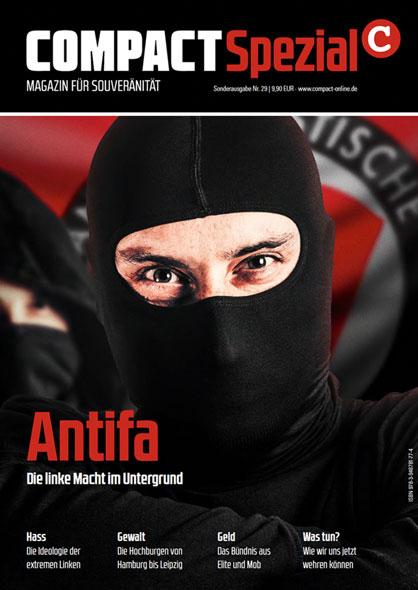 COMPACT-Spezial 29: Antifa - Die linke Macht im Untergrund