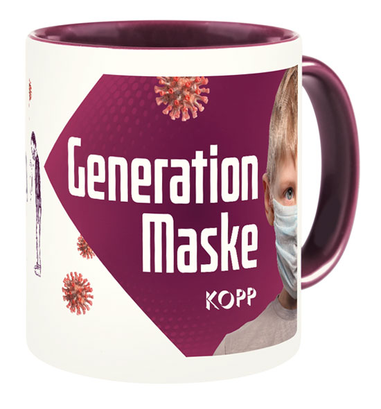 Tasse Generation Maske