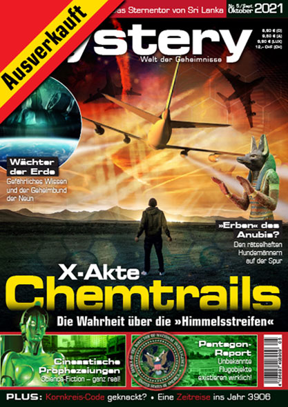 mystery - Ausgabe Nr. 5September/Oktober 2021