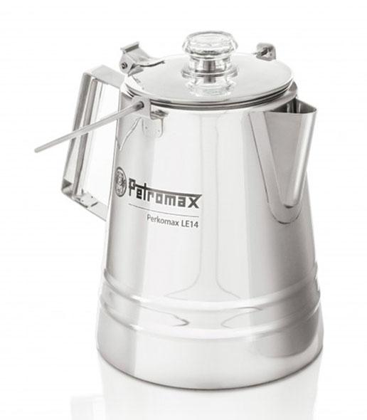 Petromax Perkolator Perkomax le14 aus Edelstahl - 1,5 Liter