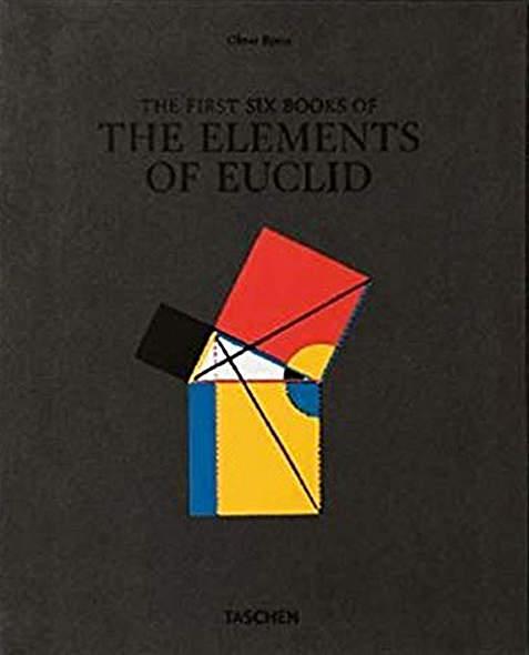 Byrne. Six Books of Euclid - Mängelartikel