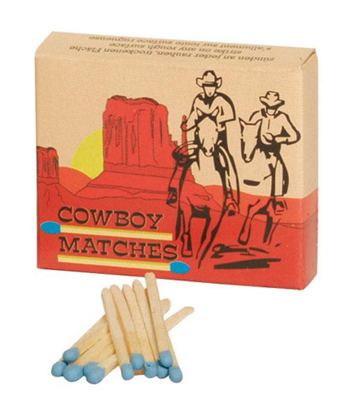Überallanzünder Cowboy-Matches (100)
