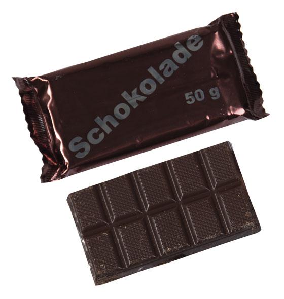 BW Schokolade, Original Bundeswehr Produktion - 50 g