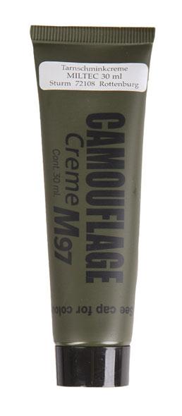 Mil-Tec® NATO Tarnschminkcreme - 30 g - Schwarz